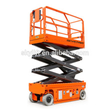 10m mobile self propelled electric scissor lift