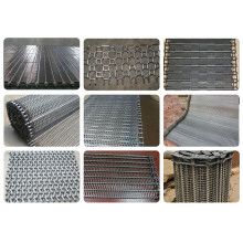 Food processing stainless steel wire conveyor belt