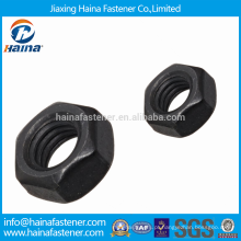 Fornecedor China High Stength Black Finished Nuts