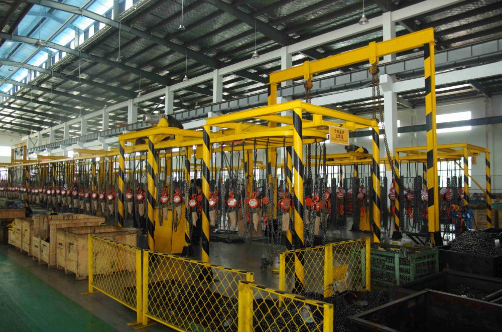 Lever Chain Hoist workshop