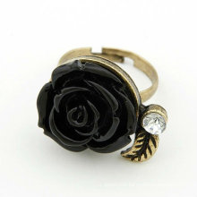 Beauty Rose Design Rings Rhinestone Finger Rings Jewellery FR77