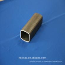 Бесшовная технология толщина стенки 1-12мм прямоугольная стальная труба