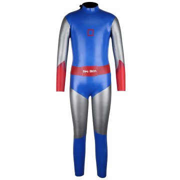 Combinaison néoprène Seaskin Junior 3 / 2MM Triathlon Back Zip