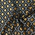 Tecido de jacquard de brocado de ouro super para vestuário