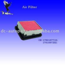 Filtro de aire comprimido 17801187710 para Daihatsu