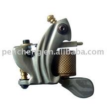Damascus tattoo machine-8-wrap coils and iron frame
