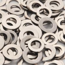 Imán de anillo, NdFeB imán permanente de boro de hierro con niquelado