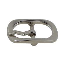 Zinc Alloy Silver Pin Belt Buckle for Bag (inner width: 15mm)