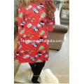 Chine gros vrac en gros famille correspondant vêtements robe pour femmes dames arbre de noël costume