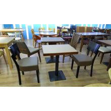 Tabela e cadeira de madeira do projeto italiano da mobília do restaurante para o hotel