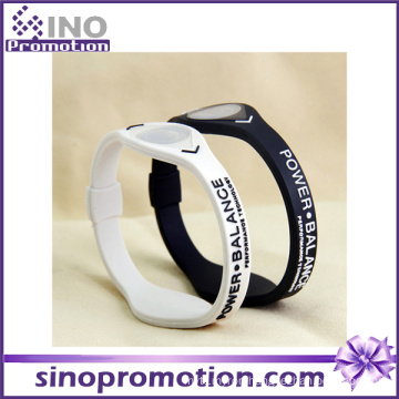 Custom Wholesale Personalized Two Color Friendship Silicone Bracelet Watch