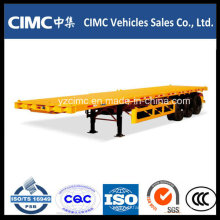 Cimc 40FT Flatbed Trailer, Chassis Container Trailer
