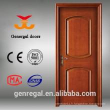 CE nouveau design peinture finition intérieur portes de placage en bois