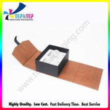 Caixa de presente do cartão rígido com interior da bandeja