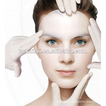 Les meilleurs produits de soin de peau blanchissant le masque facial de cellulose bio de gel