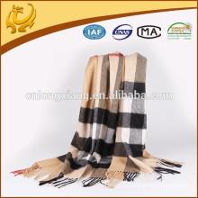 Material de cachemira mongol real cepillado clásico de alta calidad Cashmere vendedor caliente 100% Cashmere Pashmina