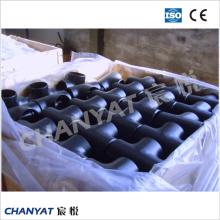 A403 (CR316H, S31609) Té en acier inoxydable à raccord de tuyau ASTM