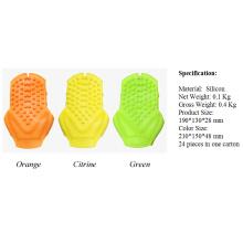 Luva Handheld da massagem do silicone do equipamento do Massager do corpo