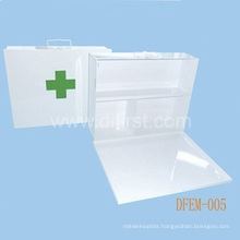 Emergency Empty First Aid Kit / Metal Box (DFEM-005)