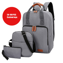 Teenage Back to School Bags Bookbags Set with Shoulder Bags and Pen Bag