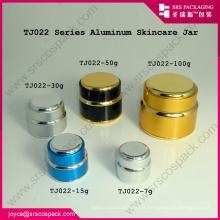 Srs1 Chine nouveau produit en aluminium jar cosmétique