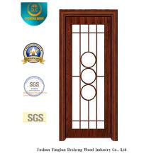 Chinesische Art Stahltür für Küche oder Studie (s-1025)