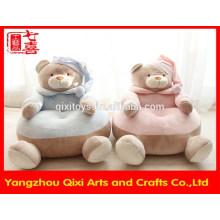 Fábrica de Yangzhou sofá do bebê macio cadeiras de pelúcia animal bonito urso de pelúcia sofá macio crianças criança sofá