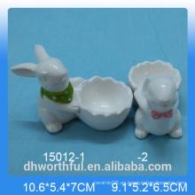 Taza de huevo de la serie de conejo para la decoración de la cocina