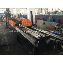 Máquina formadora de pregos e rolos de esteira de alta velocidade com puncionadeira - (60m / min)