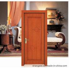 Estilo Turco Diseño Simple Puerta de madera sólida clásica