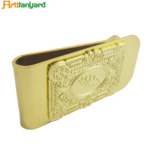 Goods high definition for Money Clip Custom Metal Clip Wallet For Customized export to Indonesia Factories