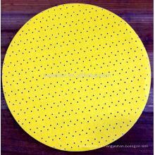 Disco abrasivo de lixamento do Drywall amarelo dos Multi-furos de 225mm