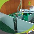Stylo sevrant de caisse de sevrage de porc de panneau de PVC d'équipement de bétail pour protéger des porcelets