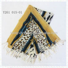 fashion animal print scarf pashmina
