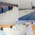 Geotextile with excellent physical and hydraulic properties