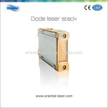 Máquinas para depilación 808nm 100W Pilas de diodo láser refrigeradas por agua de 6 bar