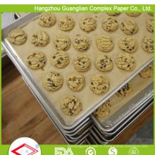 Papier de cuisson non blanchi de 40cm x 60cm en feuilles avec traitement au silicone