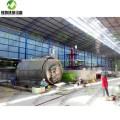 Machine de recyclage de noir de carbone pour le recyclage des pneus de camion