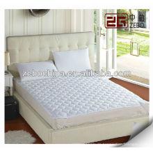 Poly / Baumwolle gesteppter Matratzenschutz für Hotelmatratze