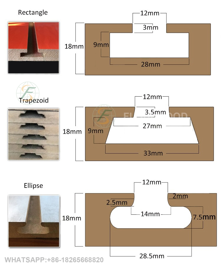 SLOTTED MDF BOARDal-