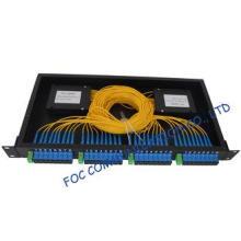 Rack Mount Fiber PLC Splitter 1x8 Full Loaded with 4pcs for