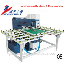 YZ220 semi-automatic horizontal glass drilling machine
