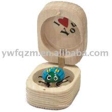 pequeño bady juguetes madera mariquita