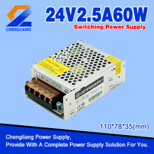 24V 60W LED Driver voor LED Strip