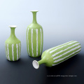Manufacturer of Ceramic Custom Art Crafts Vase for Gardening Decoration (P17K)