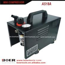 1/6лошадиная сила портативный мини-компрессор с защитой