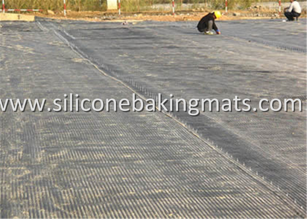 Unaxial Pet Geogrid Retaining Walls Slope Reinforcement
