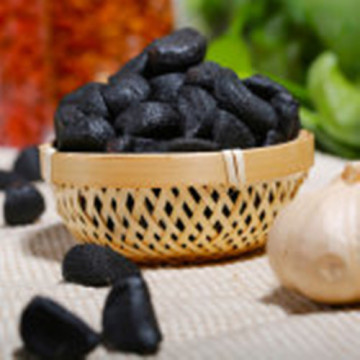 Delicious and tasty black garlic