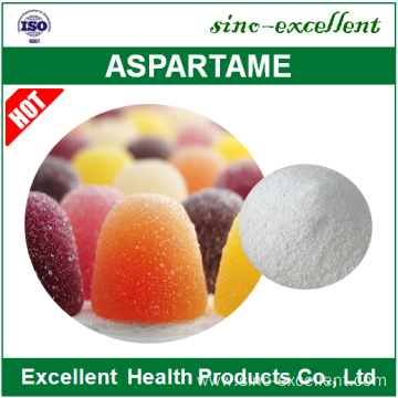 Aspartame with low-calorie and intensive sweetener