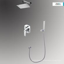 Unités de robinet de pomme de douche carrées modernes de salle de bain
